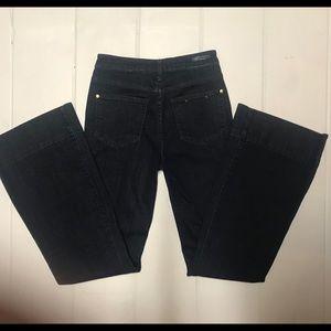 Pilcro and the Letterpress Jeans - ANTHRO   Pilcro Superscript Flare Jeans Size 25